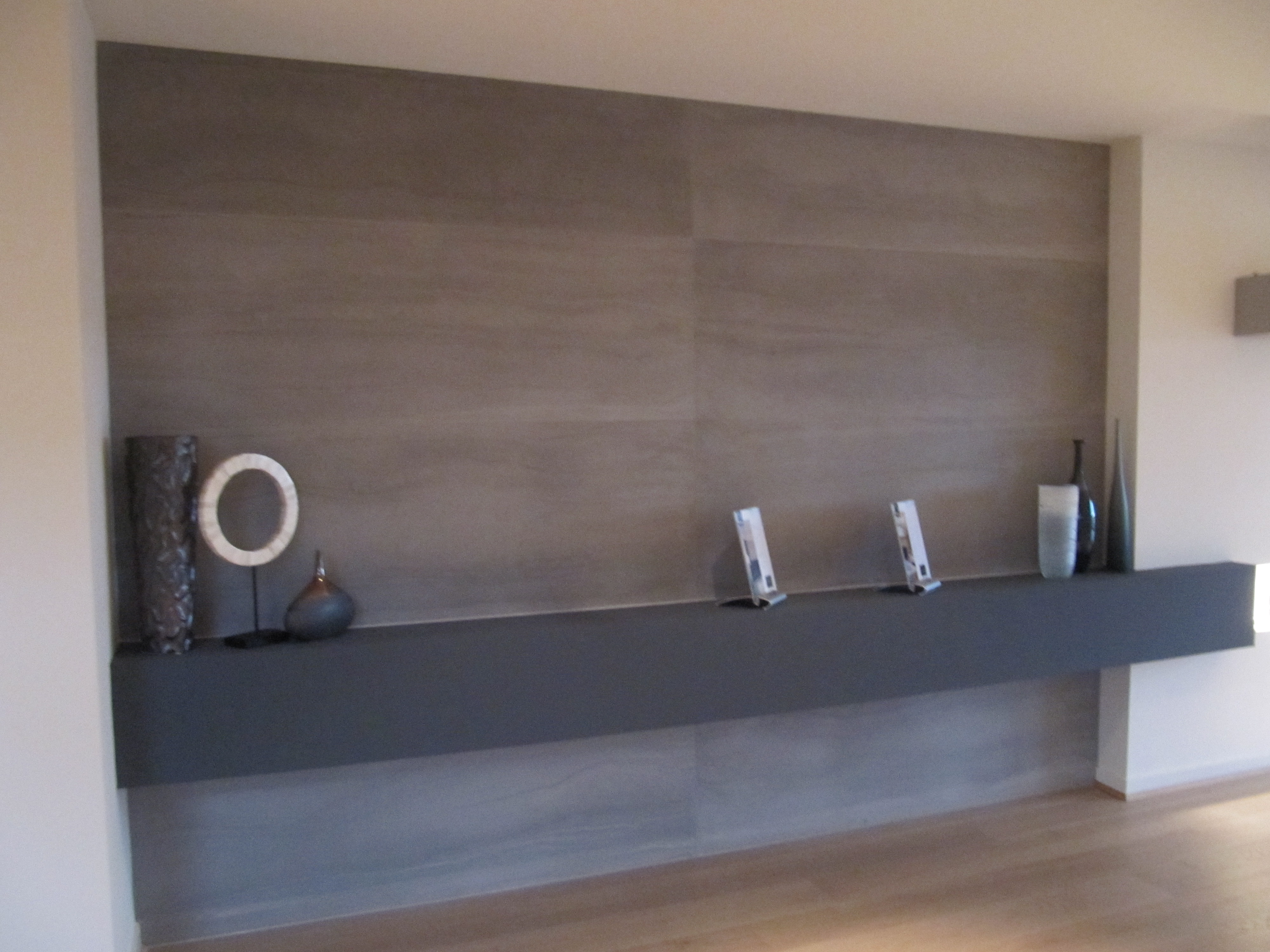 Decorative Concrete Panels Feature Wall